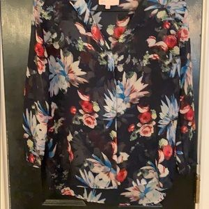 Philosophy sheer blouse size small